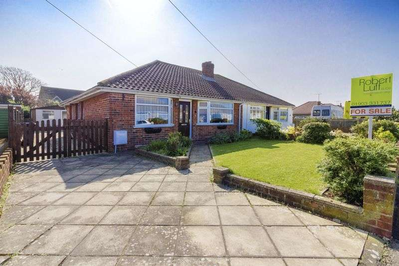 2 Bedrooms Bungalow for sale in Chester Avenue, Lancing