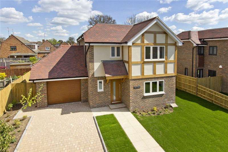 3 Bedrooms Detached House for sale in Barn Cottage, Crouch House Road, Edenbridge, Kent