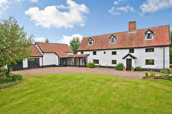 5 Bedrooms Detached House for sale in The Street, Tibenham, Norwich, Norfolk