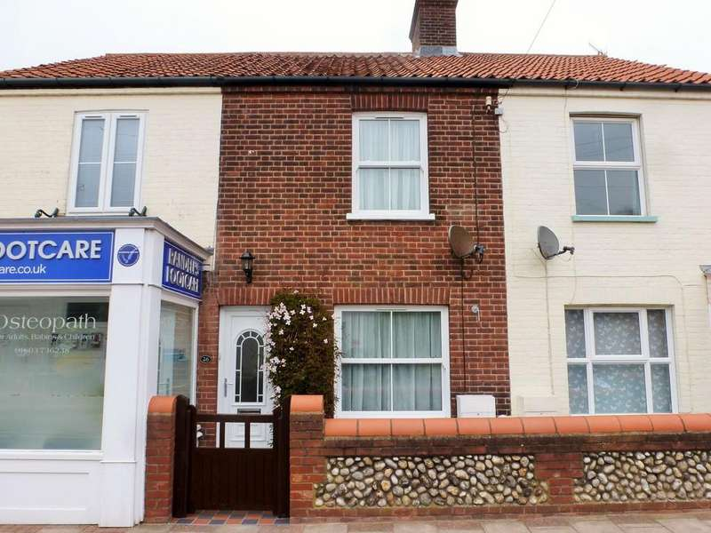 3 Bedrooms Terraced House for sale in Cromer