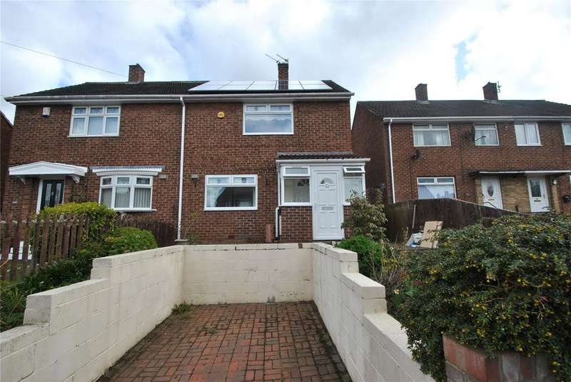 2 Bedrooms Semi Detached House for sale in Newburn Crescent, Houghton le Spring, Tyne and Wear, DH4
