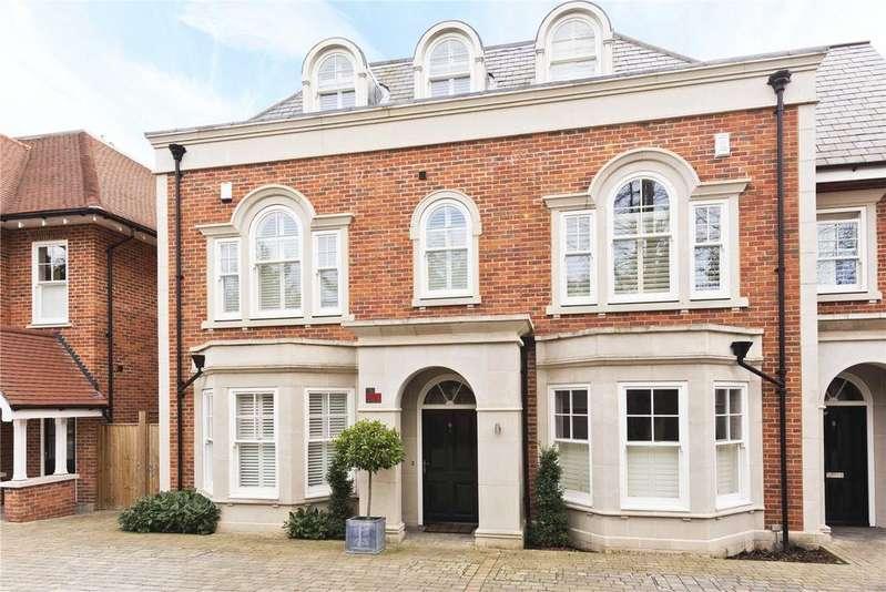 4 Bedrooms Semi Detached House for sale in Sycamore Court, Oatlands Chase, Weybridge, Surrey, KT13