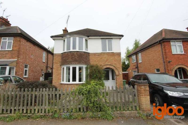 3 Bedrooms Detached House for sale in East Avenue, Whetstone, Leicester