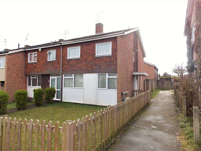 3 Bedrooms End Of Terrace House for sale in Dulnan Close, Tilehurst, Reading