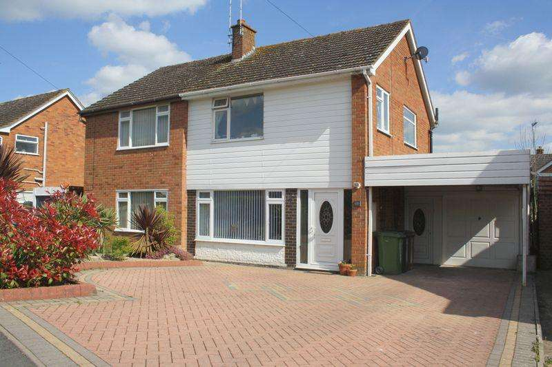 3 Bedrooms Semi Detached House for sale in Three Springs Road, Pershore