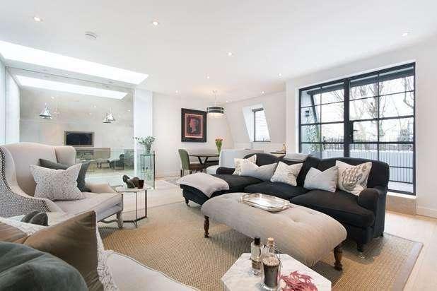 3 Bedrooms Flat for sale in Elsham Road, London, W14