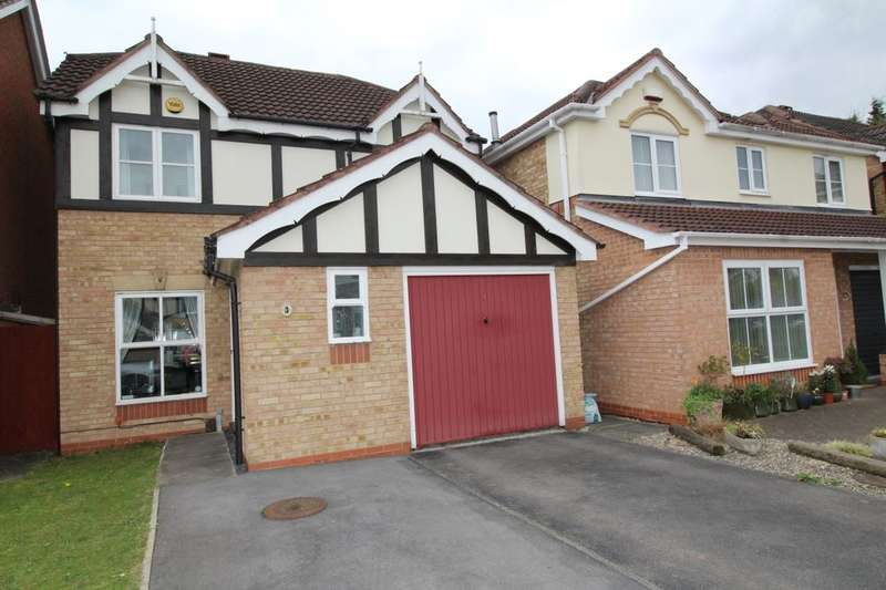 3 Bedrooms Detached House for sale in Forge Mill Grove, Hucknall, Nottingham, NG15
