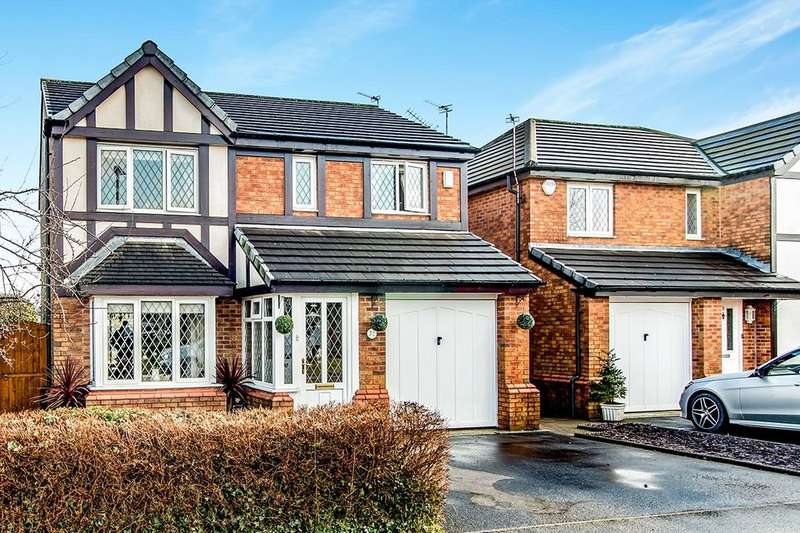 4 Bedrooms Detached House for sale in Makants Close, Tyldesley, Manchester, M29