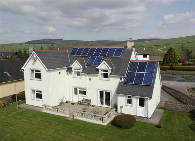 4 Bedrooms Detached House for sale in Ty Maes Y Deri, Glynogwr, Blackmill, Bridgend, Mid Glamorgan