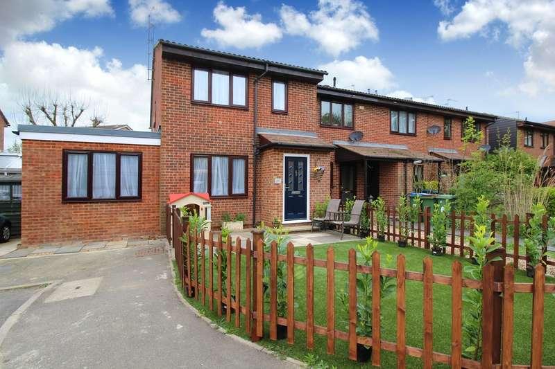 2 Bedrooms End Of Terrace House for sale in Swann Way, Broadbridge Heath
