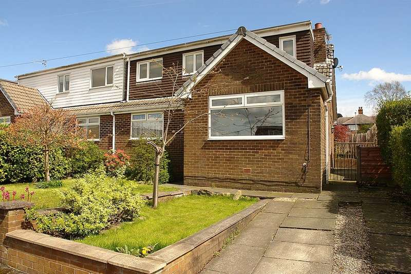 3 Bedrooms Semi Detached Bungalow for sale in 11 Clough Road, Shaw