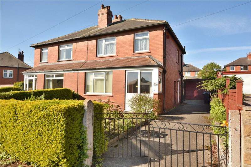 3 Bedrooms Semi Detached House for sale in Gipton Wood Road, Oakwood, Leeds