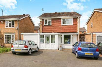 4 Bedrooms Detached House for sale in Waterside Way, Pendeford, Wolverhampton, West Midlands