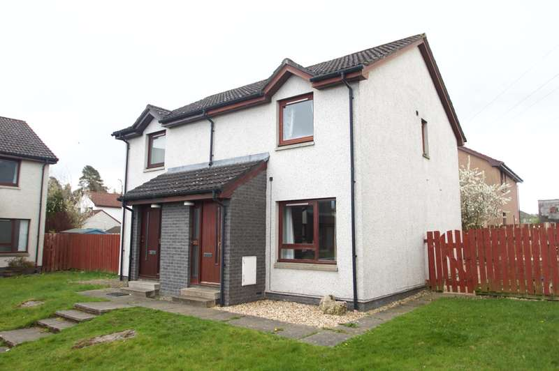 2 Bedrooms Semi Detached House for sale in Ardness Place, Inverness, IV2