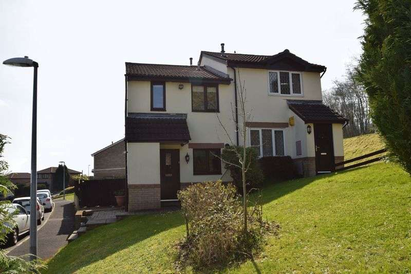 2 Bedrooms Semi Detached House for sale in Oaklands View, Greenmeadow