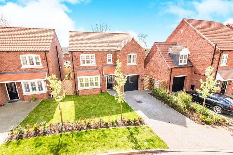 4 Bedrooms Detached House for sale in Grafham Drive, Waddington