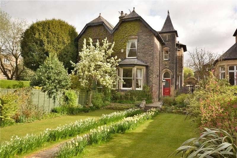 5 Bedrooms Semi Detached House for sale in Ladywood Road, Oakwood, Leeds, West Yorkshire