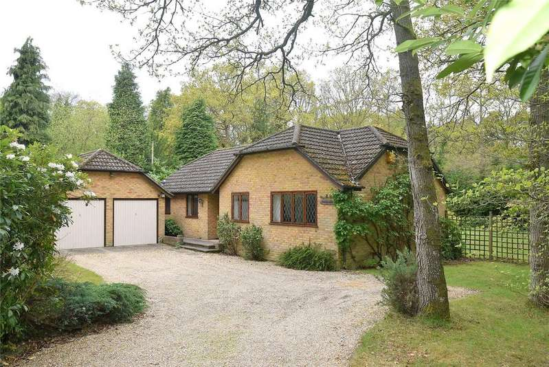 4 Bedrooms Detached Bungalow for sale in Brimpton Road, Baughurst, Tadley, Hampshire, RG26
