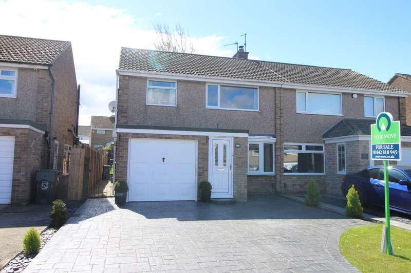 3 Bedrooms Semi Detached House for sale in Hesleden Avenue, Middlesbrough, TS5