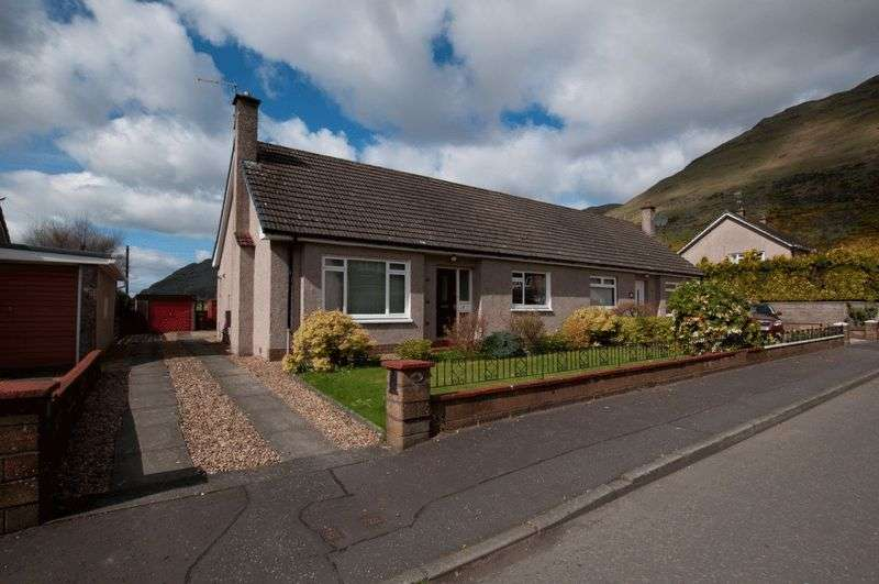 2 Bedrooms Semi Detached Bungalow for sale in Dumyat Road, Alva