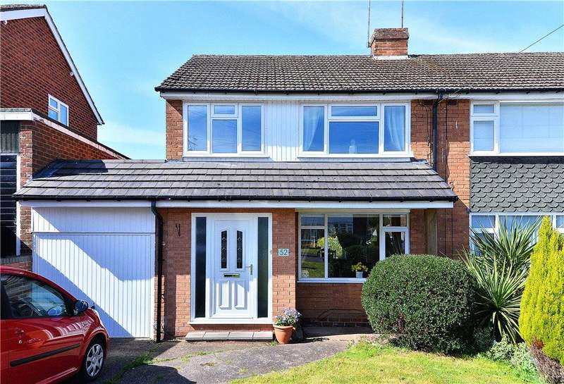 3 Bedrooms Semi Detached House for sale in Leawood Grove, Kidderminster, DY11