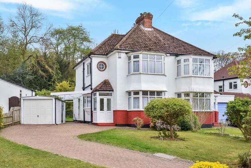 3 Bedrooms Semi Detached House for sale in Cherry Tree Walk West Wickham BR4