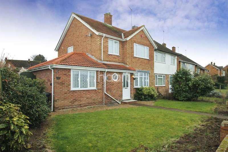 3 Bedrooms Semi Detached House for sale in Harlestone Road, Duston, Northampton