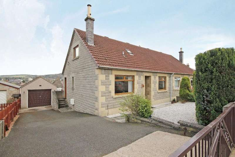 3 Bedrooms Semi Detached House for sale in Pitheavlis Crescent , Perth, Perhtshire , PH2 0JY