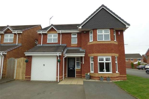 4 Bedrooms Detached House for sale in Shillingstone Drive, Heritage Park, Nuneaton, Warwickshire