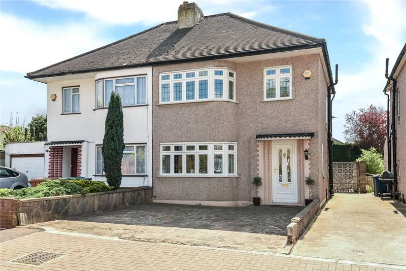 3 Bedrooms Semi Detached House for sale in Lulworth Drive, Pinner, Middlesex, HA5