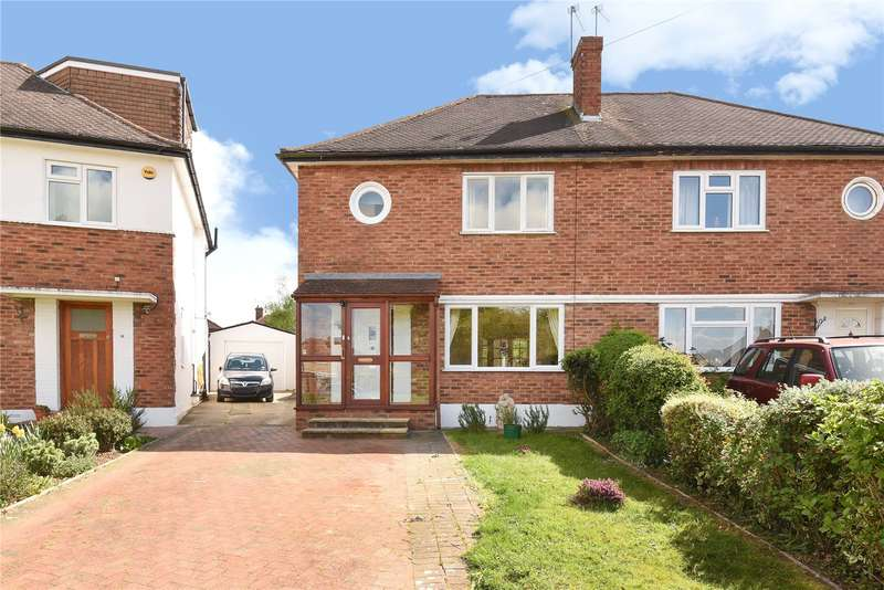 3 Bedrooms Semi Detached House for sale in Cranmer Close, Ruislip, Middlesex, HA4
