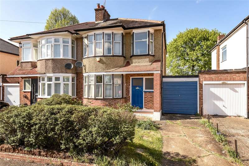 3 Bedrooms Semi Detached House for sale in Shenley Avenue, Ruislip, Middlesex, HA4