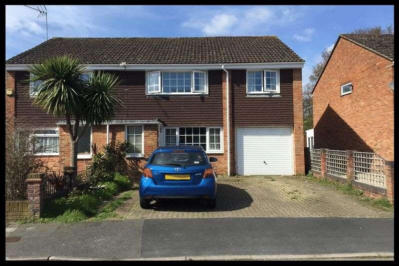 3 Bedrooms Semi Detached House for sale in Richmond Close, Calmore