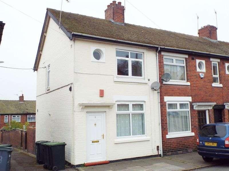 2 Bedrooms Terraced House for sale in Davis Street, Shelton, Stoke-On-Trent