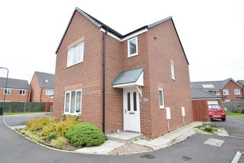 3 Bedrooms Detached House for sale in 87 Yew Tree Close, Spring Gardens, Shrewsbury SY1 2UR