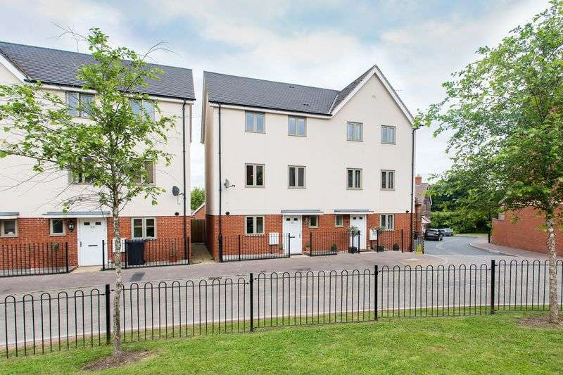 3 Bedrooms House for sale in Campbell Road, Venns Lane, Hereford, HR1 1AD