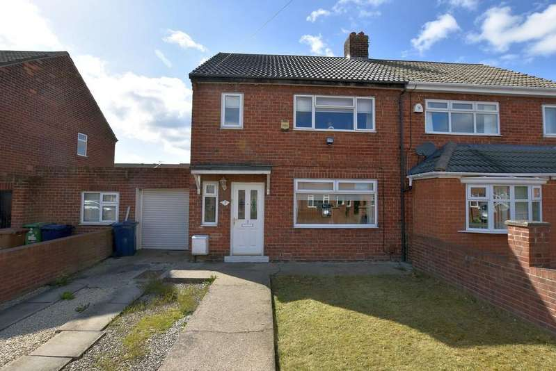 2 Bedrooms Semi Detached House for sale in Lavender Grove, Castletown