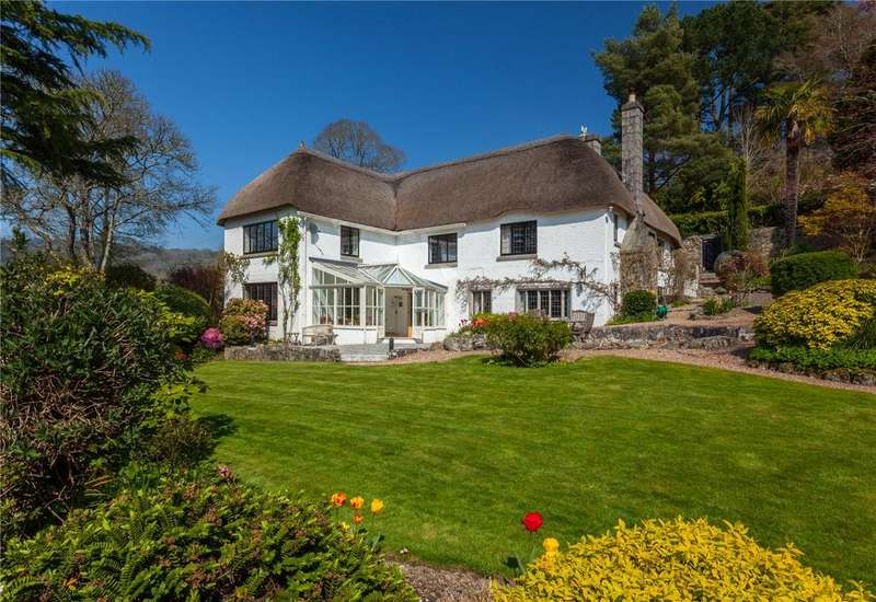 5 Bedrooms Unique Property for sale in Lustleigh, Newton Abbot, Devon, TQ13