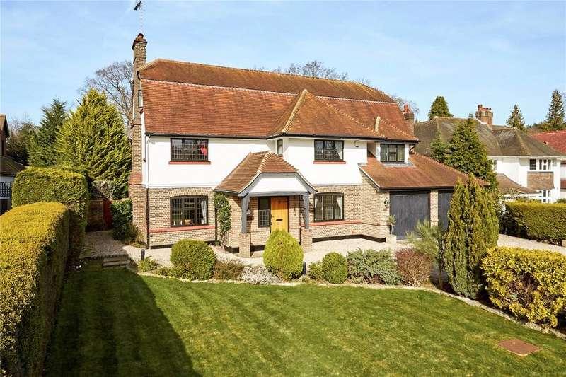 5 Bedrooms Detached House for sale in Ninhams Wood, Orpington, Kent, BR6