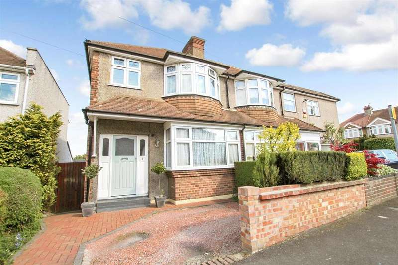 3 Bedrooms Semi Detached House for sale in Clive Avenue, Crayford