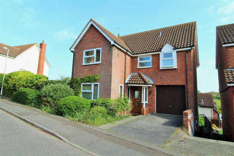 4 Bedrooms Detached House for sale in Egret Crescent, Longridge Park, Colchester
