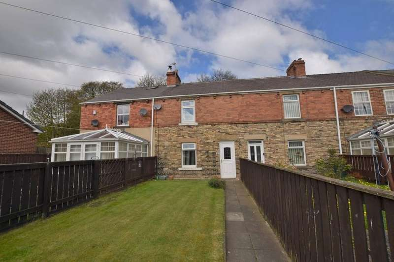2 Bedrooms Terraced House for sale in West Street, Tanfield Lea, Stanley