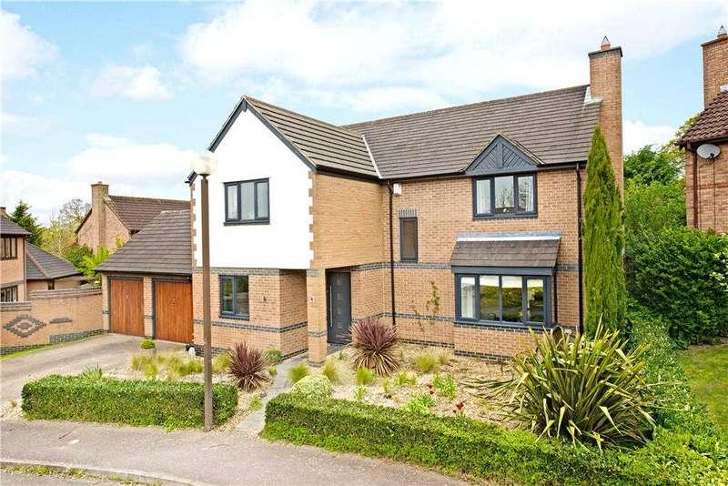 4 Bedrooms Detached House for sale in Bartholomew Close, Walton Park, Milton Keynes, Buckinghamshire