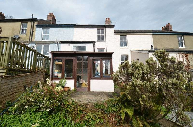 2 Bedrooms Terraced House for sale in Sunnymead Terrace, Totnes