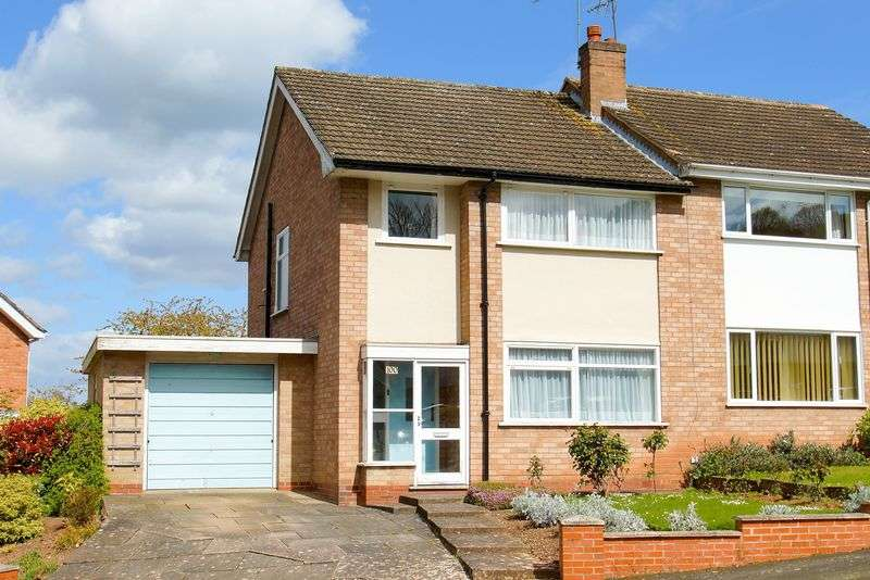 3 Bedrooms Semi Detached House for sale in Vicarage Crescent, Redditch, Worcestershire, B97
