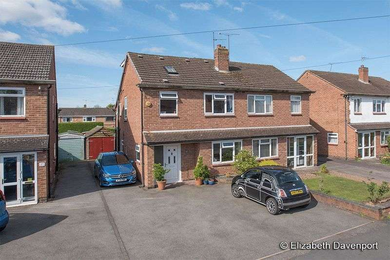 4 Bedrooms Semi Detached House for sale in Queens Close, Kenilworth