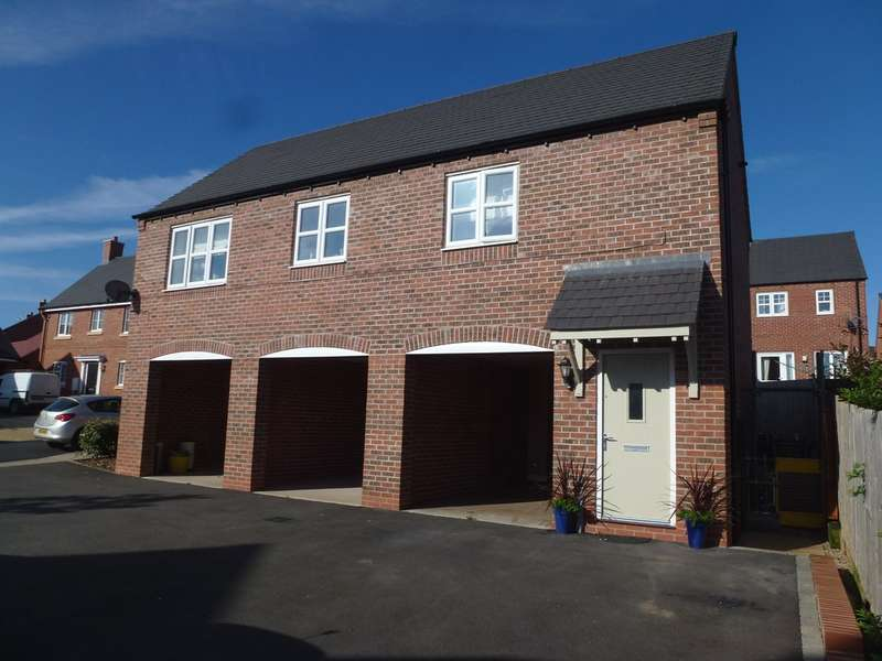 2 Bedrooms Town House for sale in Spitfire Road, Castle Donington