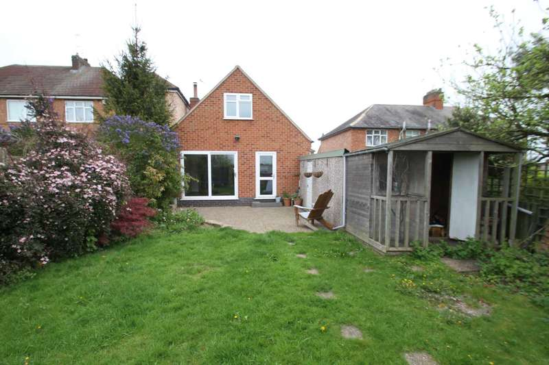 2 Bedrooms Detached Bungalow for sale in Dalby Road, Anstey.