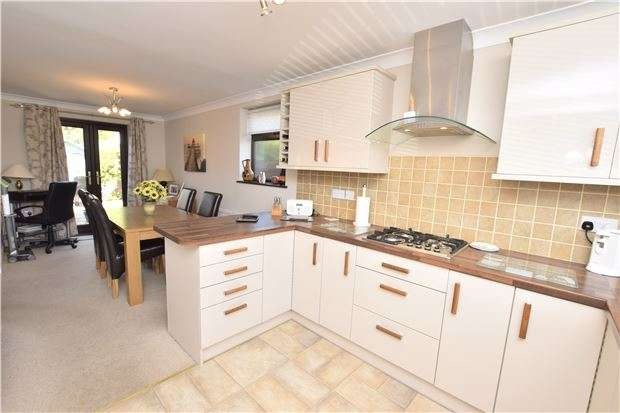 2 Bedrooms End Of Terrace House for sale in Chubb Close, Barrs Court, BS30 7BP