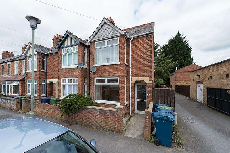 3 Bedrooms Semi Detached House for sale in Hendred Street, East Oxford